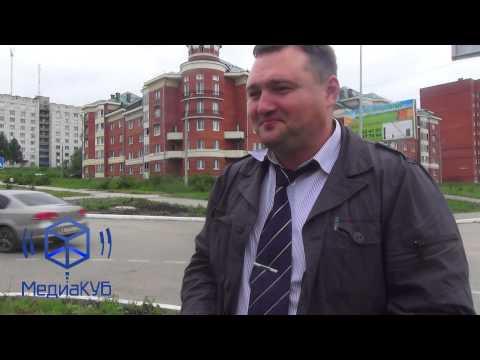 Житель Пермского моря появился на проспекте  Ленина в Губахе