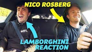 Driving Around With Nico Rosberg In A Lamborghini Centenario