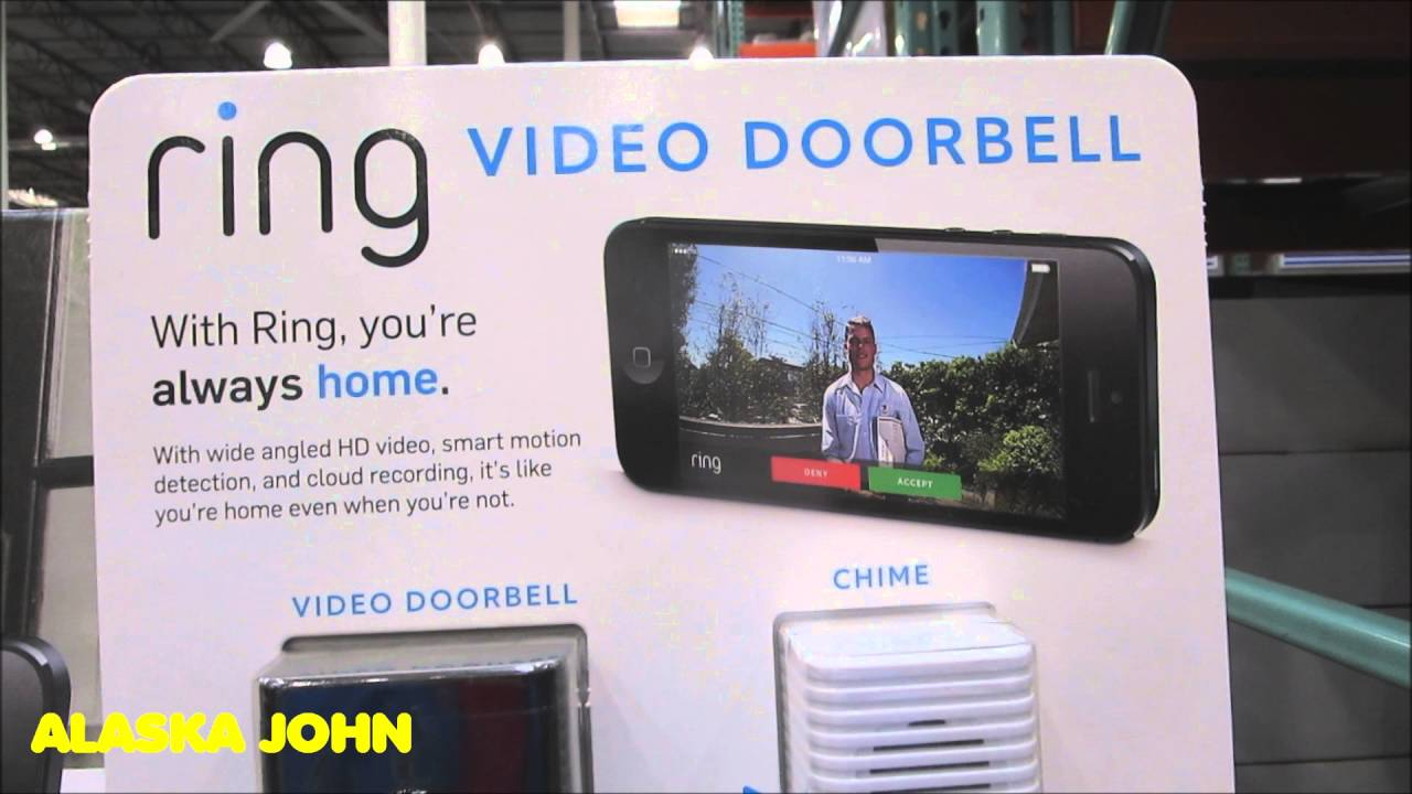 ring video doorbell 17999 anchorage alaska costco youtube