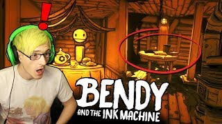 PROOF WE CREATED BENDY! | All Bendy And The Ink Machine Chapter 3 SECRETS