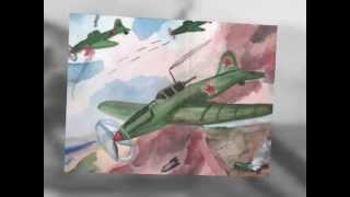 Рисунки. Как дети видят Великую Отечественную войну