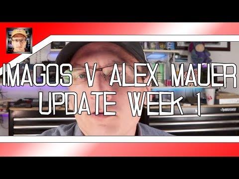 Official: Imagos v. Alex Mauer - Week 1 - The Filing