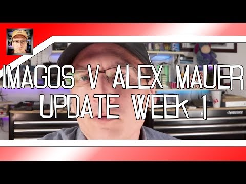 Official: Imagos v. Alex Mauer - Week 1 - The Filing