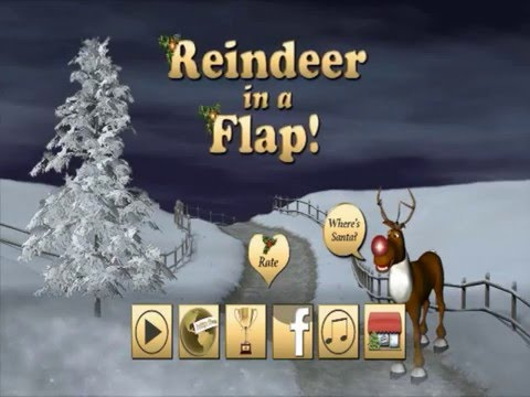 Reindeer in a flap: App from Apple, Google Play & Amazon