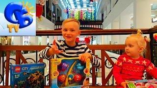 Покупаем игрушки Лего Сити набор Пепа Доктор Рыбалка Buy toys Lego City Peppa Fishing