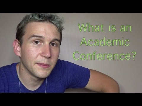 VEDR #9: What is an Academic Conference?