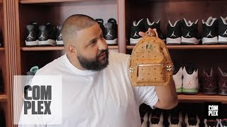 complex closets dj khaled shows his sneaker closet pt 2