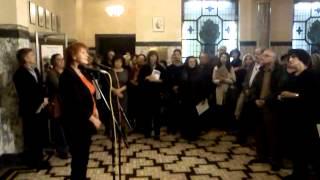 Откриване на Дните на Павел Вежинов, част 1 - Юлия Цинзова
