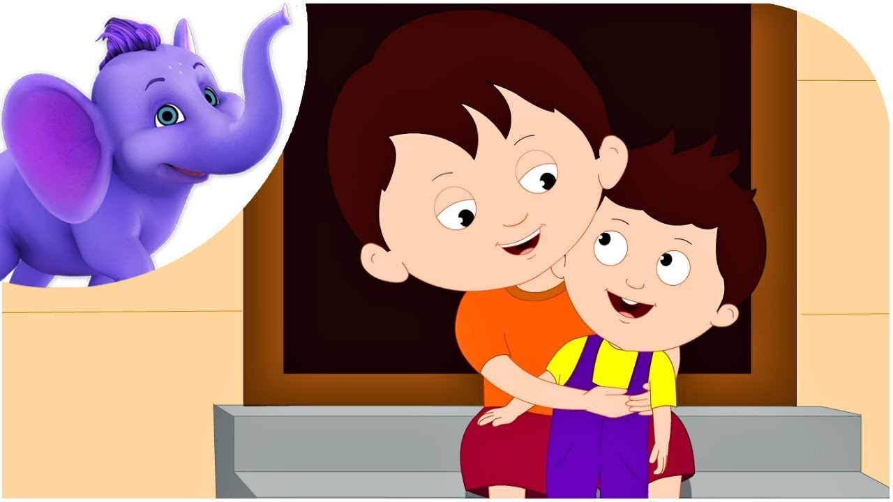 I Love You Well My Little Brother Nursery Rhyme With Karaoke