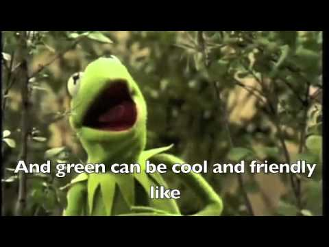 Bein' Green by Kermit the Frog Lyrics WS