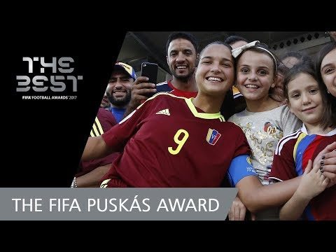 Deyna CASTELLANOS - FIFA PUSKAS AWARD 2017 FINAL 3! - VOTING CLOSED!