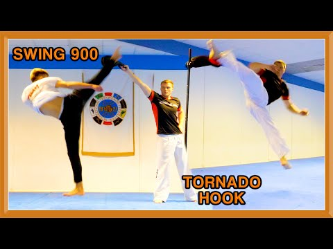 Taekwondo Paddle Kicking Sampler | GNT & JJ Battell