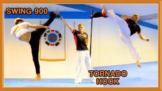 Taekwondo Paddle Kicking Sampler   GNT & JJ Battell
