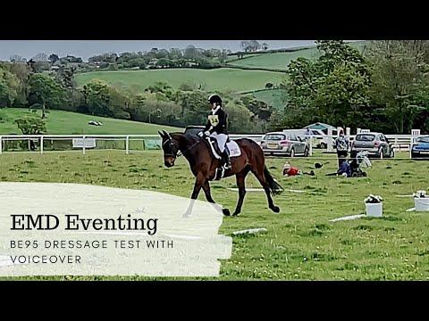 BE95 Dressage Test - EMD Eventing