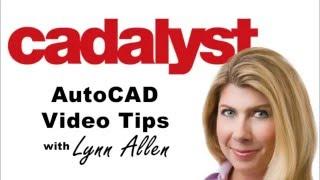 AutoCAD Tip - A Couple of DText Tips (Lynn Allen/Cadalyst Magazine)