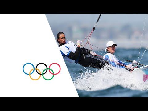 Sailing 470 Women Opening Series - Italy Win Race 6   London 2012 Olympics