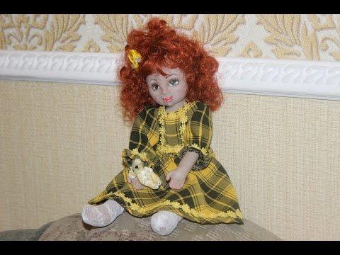 0 - Як зшити текстильну ляльку?