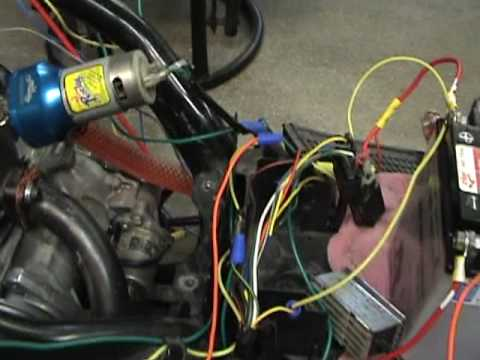Honda DIO WIRING THE SIMPLE WAY, part #1 - YouTube