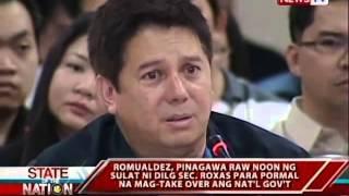 SONA: Tacloban City Mayor Alfred Romualdez, naglabas ng hinanakit kanina sa hearing sa Senado