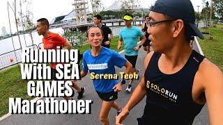 Running With SEA GAMES Marathoner Serena Teoh -  Intro To Garmin Wearables Event