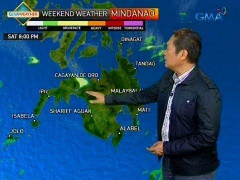 24 Oras: Mindanao, makakaranas ng maulang weekend dahil sa epekto ng ITCZ