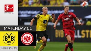 Borussia Dortmund Eintracht Frankfurt 5 2 Highlights Matchday 1 Bundesliga 2021 22