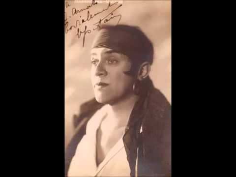 """Charles Fontaine, tenor  Pathé """"Asile Héréditaire"""" 1919"""