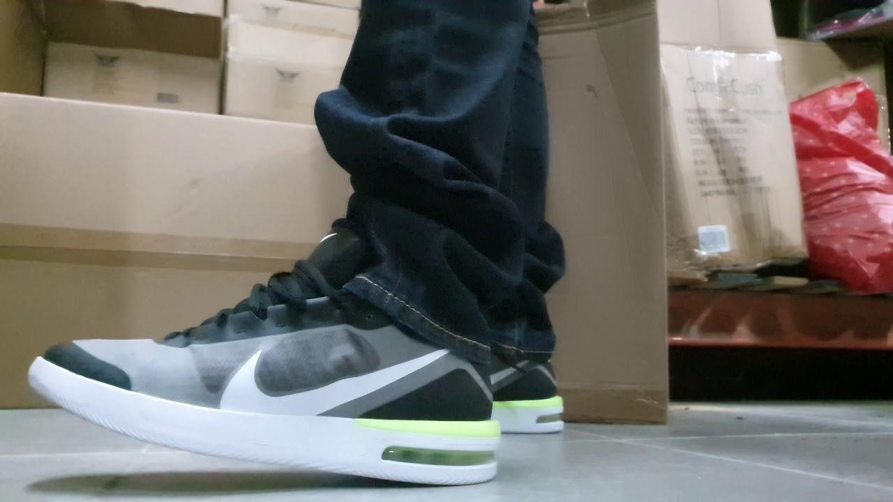 Nike Court Air Max Vapor Wing on feet