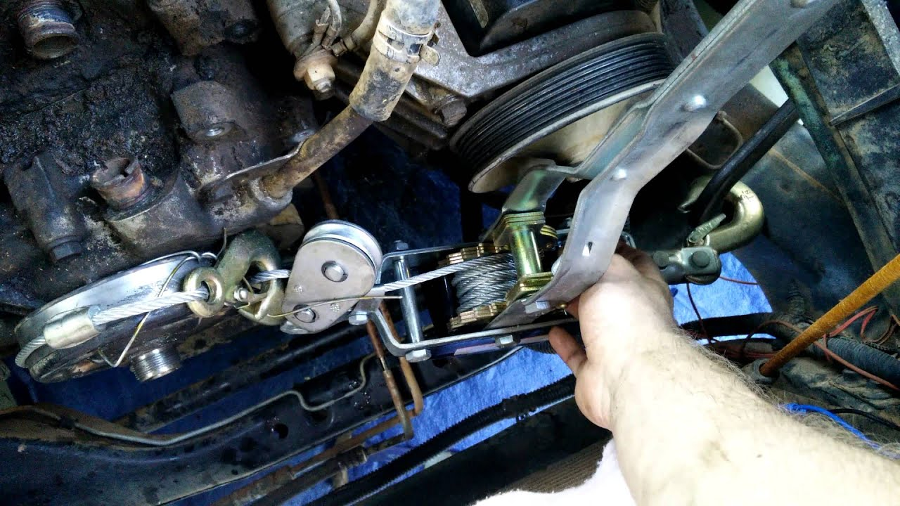 Removing A Clutch Fan On A 97 Dodge Dakota Youtube