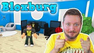 MIT GAMER RUM! - Roblox Bloxburg Dansk Ep 17