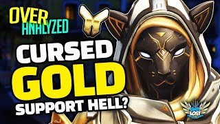 Overwatch Coaching - CURSED Ana! Stuck in GOLD Support Hell?! [OverAnalzyed]