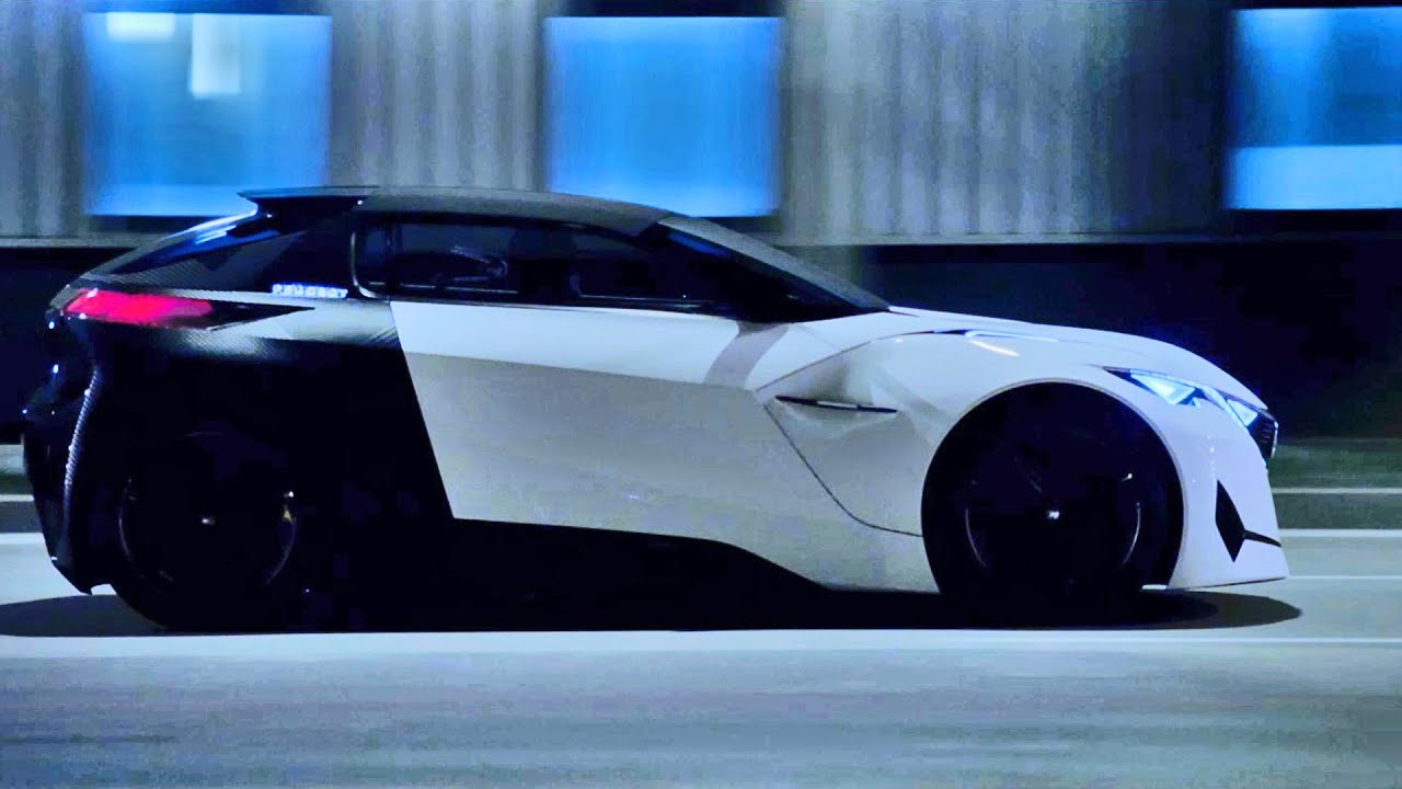 Peugeot Fractal (2015) Awesome Concept Car - YouTube