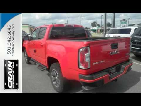 2016 gmc canyon conway ar little rock ar 6gt6821 sold youtube. Black Bedroom Furniture Sets. Home Design Ideas