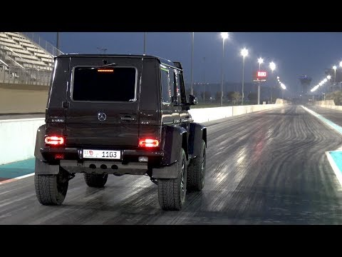 Mercedes-Benz G500 4x4 PP-Performance 1/2 Mile Accelerations!