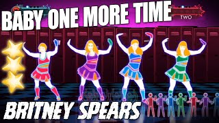 Baby One more Time - Britney Spears with lyrics || Just dance 3 - Dance cherography music
