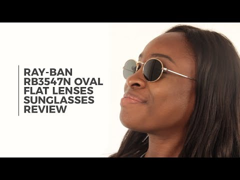 146c3b0f2 Ray Ban RB3547N Oval Flat Lenses Sunglasses Review | SmartBuyGlasses -  YouTube