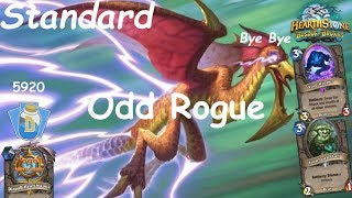 Hearthstone: Odd Rogue Post-Nerf #8: Witchwood (Bosque das Bruxas) - Standard Constructed
