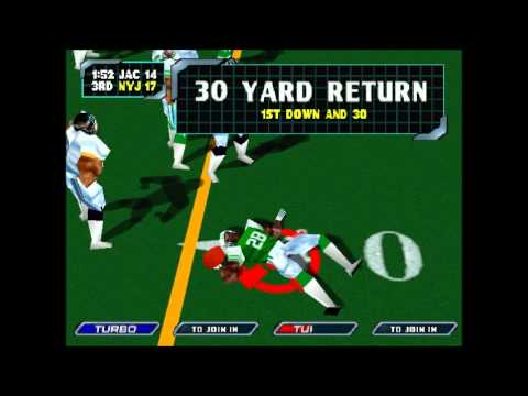 NFL BLITZ 2000 New York Jets vs Jaguars