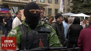 Ukraine Crisis:'I know what I am fighting for' BBC News
