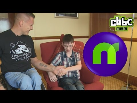 CBBC: Newsround - Viewer Meets His Hero David Weir