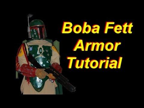 Boba Fett Armor Template   How To Make A Boba Fett Costume Armor Pepakura Ish Youtube