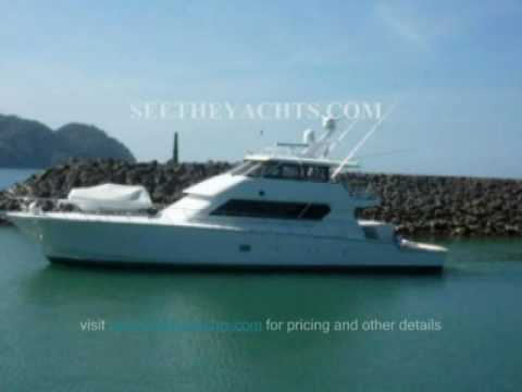 FLY BRIDGE YACHT FOR SALE