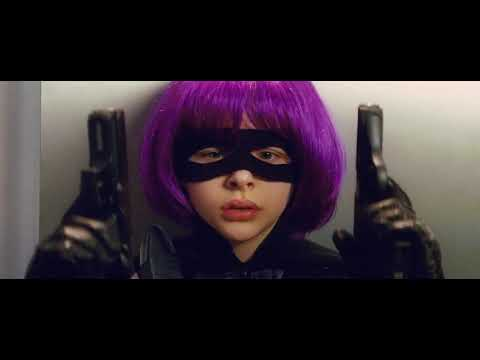 kick-ass/best-scene/aaron-johnson/christopher-mintz-plasse/chloë-grace-moretz/mark-strong
