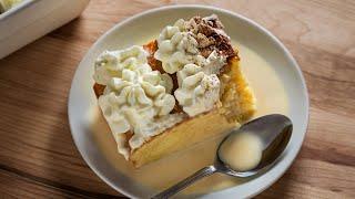 Tres Leches Cake Recipe!