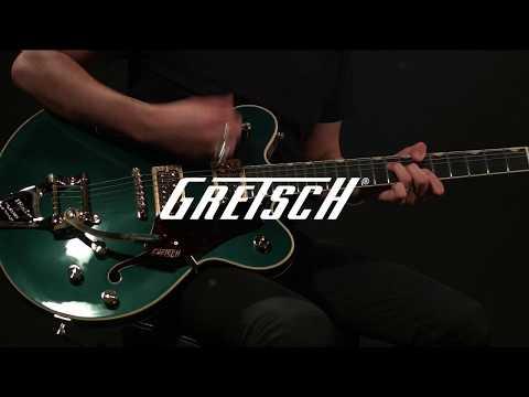 Gretsch G6609TG Players Edition Broadkaster Center Block   Gear4music demo