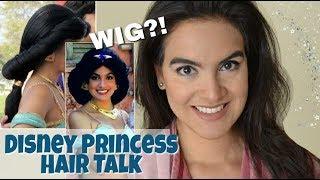 Disney Princess HAIR: Is it a WIG? Heavy?! & More!