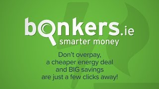 Switch to the cheapest gas & electricity price plan with bonkers.ie