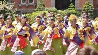 北鼓童&名寄市立大学 YOSAKOIソーラン祭り 2016 6月11日道庁赤れんが会場