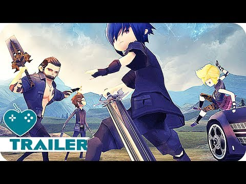 Final Fantasy 15 Pocket Edition Launch Trailer (2018) iOS, Android Game