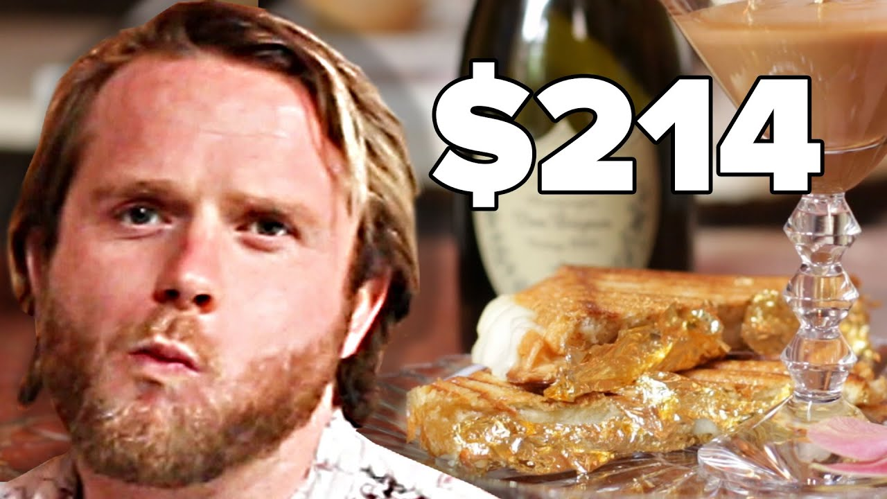 People Try Worlds Most Expensive Grilled Cheese